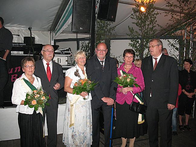 Waltraut Kersting und Helmut Kersting Königspaar 2010