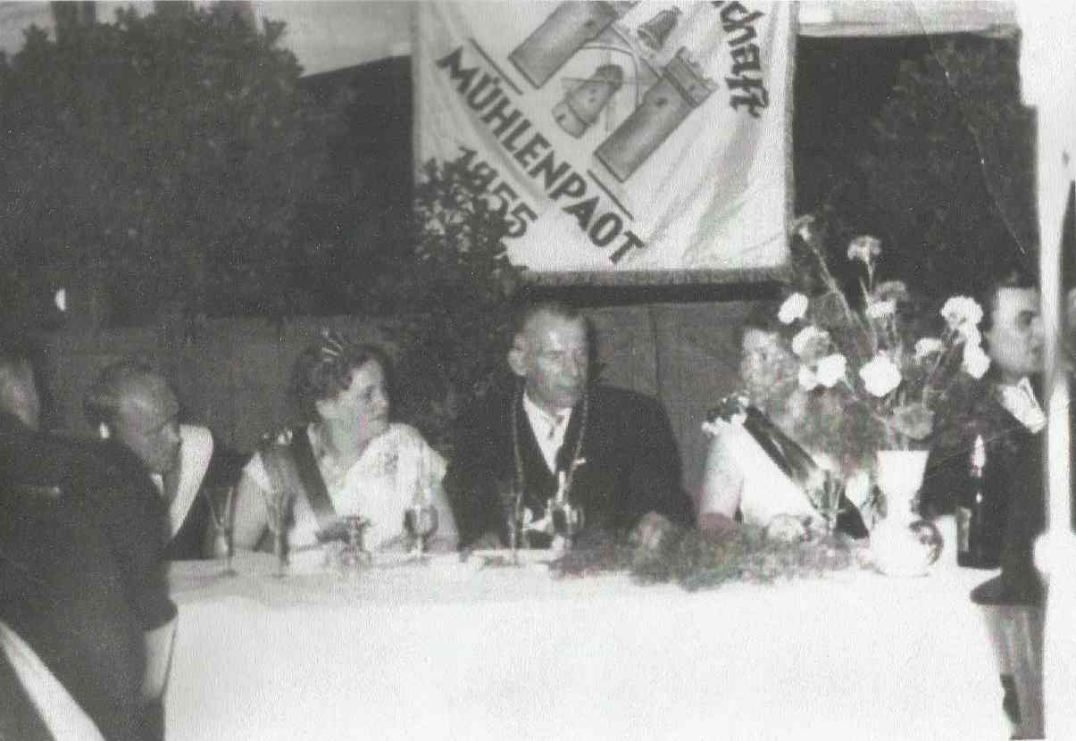 Franz Jasperneite und Sefi Benning Königspaar 1959