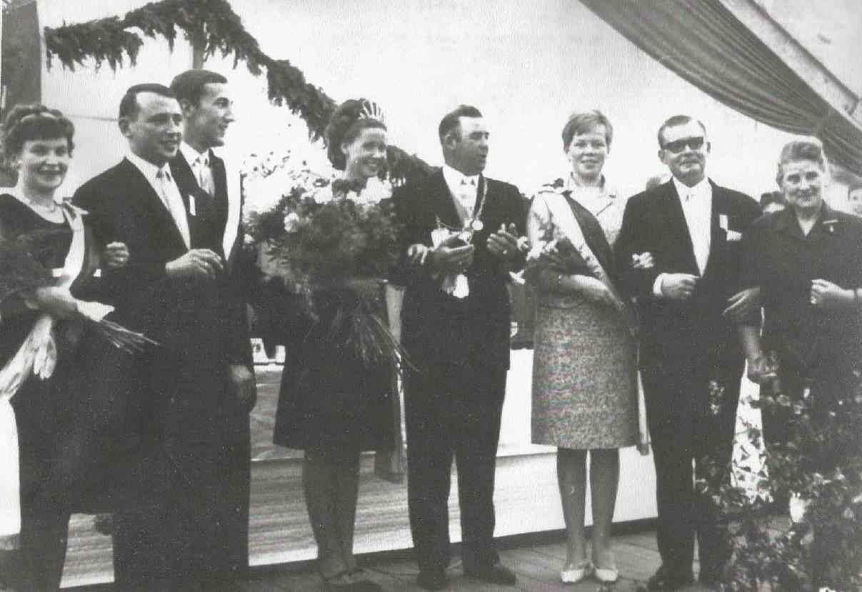 Willi Guckes und Inge Krampe Königspaar 1967