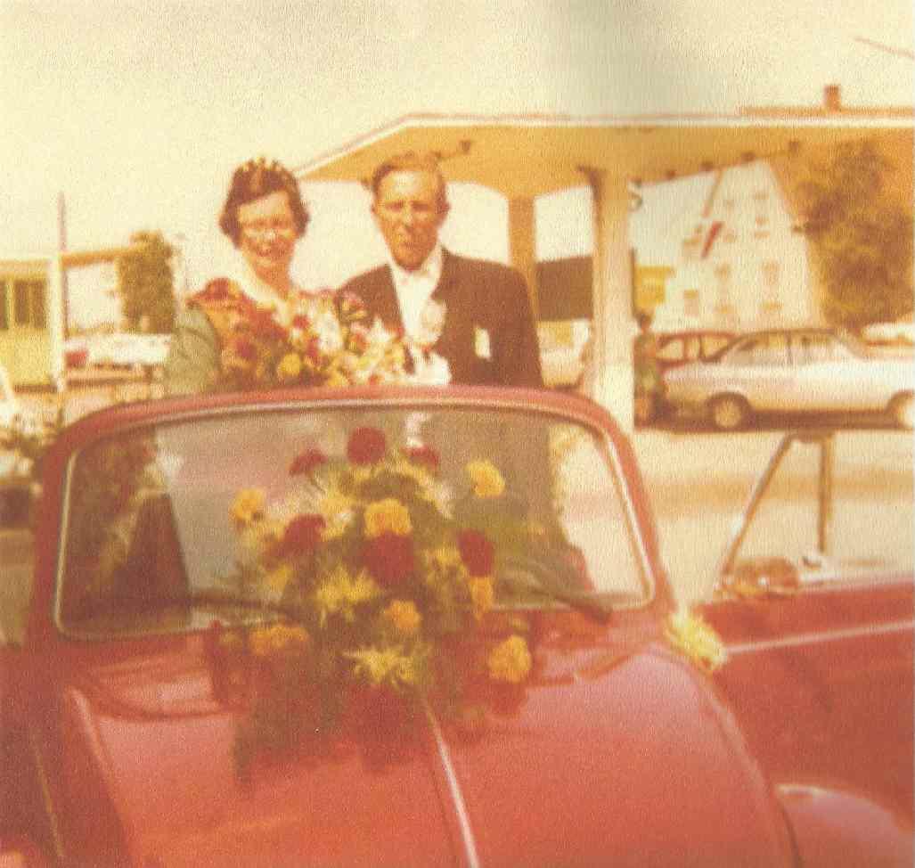 Walter Hummel und Renate Malkemper Königspaar 1973
