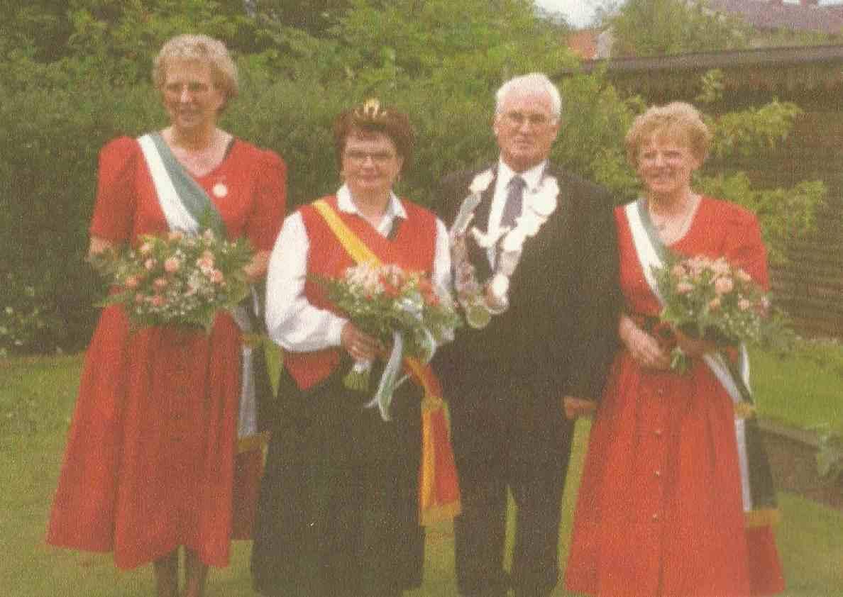 Engelbert Wippermann und Christel Wippermann Königspaar 1994