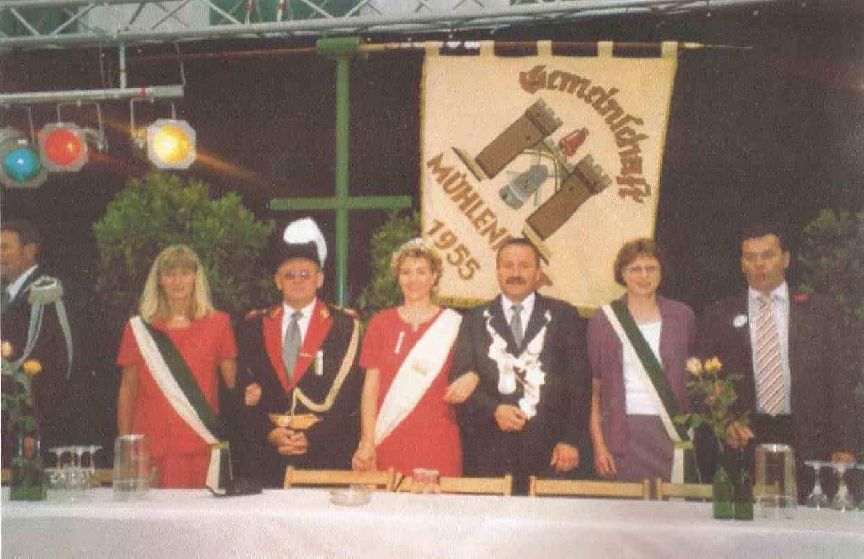 Matthias Brüning und Brigitte Wippermann Königspaar 2004