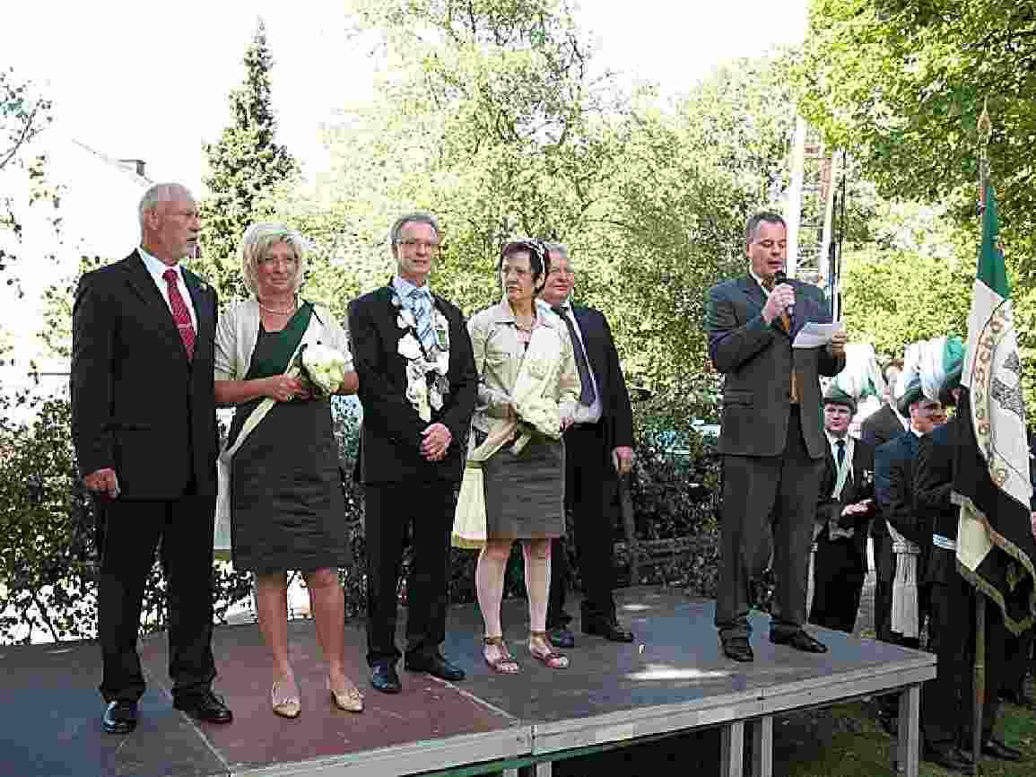 Werner Möllerfeld und Margret Focke Königspaar 2007
